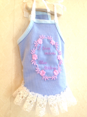 <img class='new_mark_img1' src='https://img.shop-pro.jp/img/new/icons1.gif' style='border:none;display:inline;margin:0px;padding:0px;width:auto;' />I love mama cami blue * アイラブ ママ キャミ ブルー *