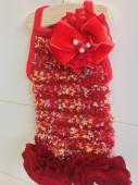 FuriFuri Tweeds Red フリフリ ツイード レッド
