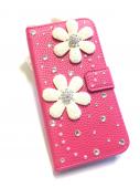 Twin Flower Pink * ツインフラワー ピンク 蓋付き *
