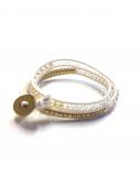 Wrap Bracelet white * ブレスレット * ホワイト * *