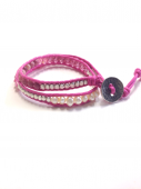 Wrap Bracelet combi pink * ラップブレス * コンビピンク * *