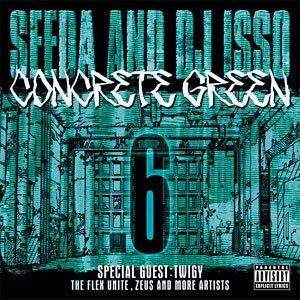 Seeda dj isso concrete green 6 mix cd concrete green 2008 wenod records - Cd concreet ...