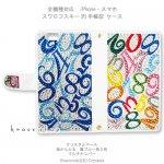 【両面デコ】マルチナンバー(からふる&ブルー系2色)