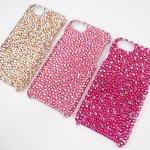 【1セットのみの特価】3台セット iPhone7&8用 ケース スワロフスキー