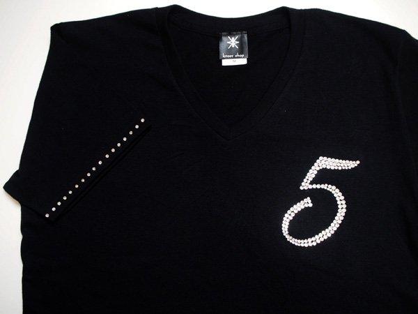 Tシャツ、スワロフスキー、OEM、2次加工