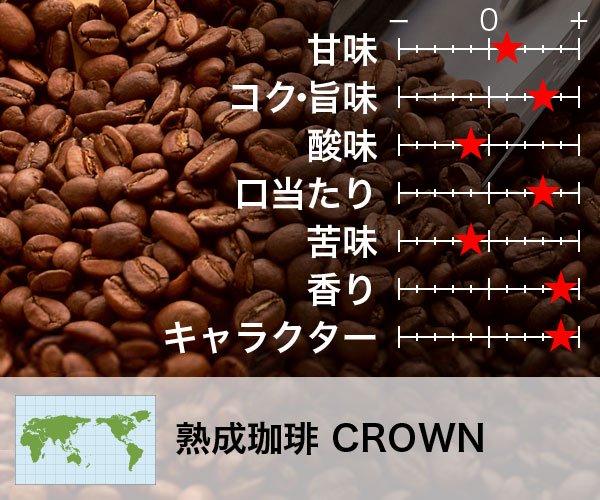 熟成珈琲 CROWN〈クラウン〉