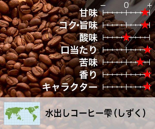 水出しコーヒー「雫」