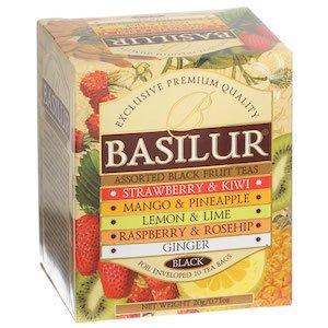 BASILUR:Magic Fruits Assorted (ティーバッグ5種×2袋入り)