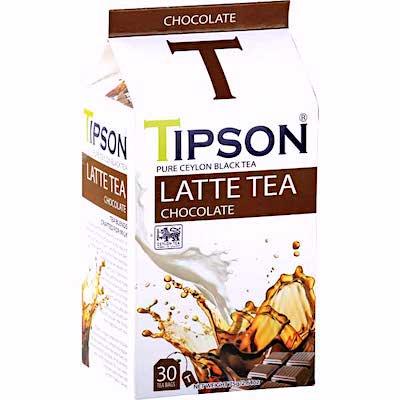 TIPSON  LATTE TEA   チョコレート<br/>フレーバー (ティーバッグ30袋入)