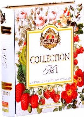 BASILUR  Collection No1 T-bag 32袋入り