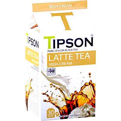 TIPSON  LATTE TEA   アイリッシュクリーム (ティーバッグ30袋入)