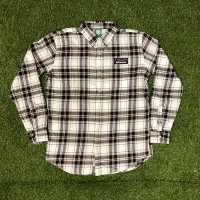HIFUMIYA  Flannel shirt(WHT)<img class='new_mark_img2' src='//img.shop-pro.jp/img/new/icons15.gif' style='border:none;display:inline;margin:0px;padding:0px;width:auto;' />