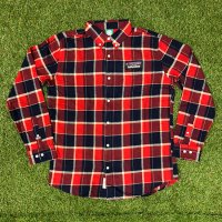 HIFUMIYA  Flannel shirt(RED)<img class='new_mark_img2' src='//img.shop-pro.jp/img/new/icons15.gif' style='border:none;display:inline;margin:0px;padding:0px;width:auto;' />