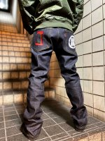 HIFUMIYA Crest Jeans Pants<img class='new_mark_img2' src='https://img.shop-pro.jp/img/new/icons25.gif' style='border:none;display:inline;margin:0px;padding:0px;width:auto;' />