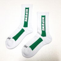 HIFUMIYA Logo Socks (GREEN)