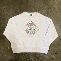 TOBASUZO Sweat (ASH)<img class='new_mark_img2' src='https://img.shop-pro.jp/img/new/icons15.gif' style='border:none;display:inline;margin:0px;padding:0px;width:auto;' />
