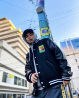 AMEMURAN SPIRIT VARSITY JACKET (BLK)<img class='new_mark_img2' src='https://img.shop-pro.jp/img/new/icons15.gif' style='border:none;display:inline;margin:0px;padding:0px;width:auto;' />