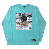 LOCKDOWN Long Sleeve T-Shirt (Pastel EMERALD)<img class='new_mark_img2' src='https://img.shop-pro.jp/img/new/icons13.gif' style='border:none;display:inline;margin:0px;padding:0px;width:auto;' />
