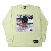 LOCKDOWN Long Sleeve T-Shirt (Milky Lime)<img class='new_mark_img2' src='https://img.shop-pro.jp/img/new/icons13.gif' style='border:none;display:inline;margin:0px;padding:0px;width:auto;' />
