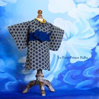 藍衣 麻の葉浪漫 sample
