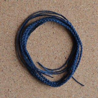 ヘンプ編み紐 濃い藍