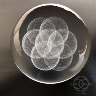 3Dシードオブライフ玉