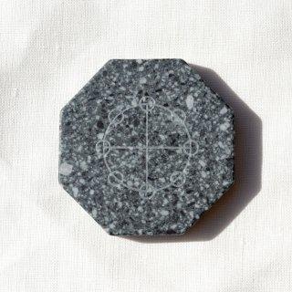 遠野霊石 カタカムナ 八面体プレート