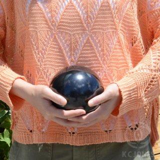 シュンガイト 丸珠 直径約130mm