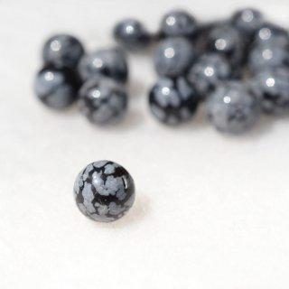 スノーフレークオブシディアン 10mm玉