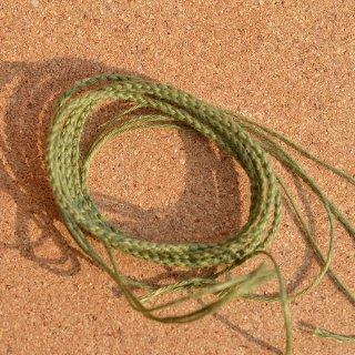 ヘンプ編み紐 よもぎ