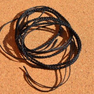 ヘンプ編み紐 ブラック