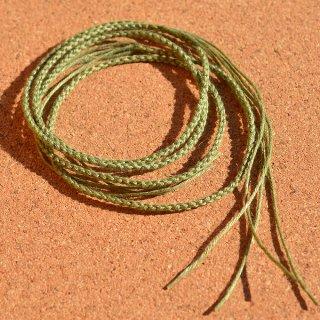 ヘンプ編み紐 モスグリーン