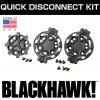 実物 BLACKHAWK !ブラックホーク SELPAホルスター 対応 クイック ディスコネクト システム キット BK