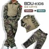 BDU G3 CRYE タイプ コンバットシャツ&コンバットパンツ 上下セット 第3世代 コンバット バトルスーツ 子供サイズ MCマルチカム 120〜150cm