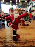 クリスマス ヨガ サンタ  踊り神のポーズ ヨガ教室 ヨガグッズ ヨガサンタ