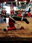クリスマス ヨガ サンタ  鋤のポーズ ヨガ教室 ヨガグッズ ヨガサンタ