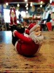 クリスマス ヨガ サンタ  弓のポーズ ヨガ教室 ヨガグッズ ヨガサンタ