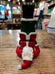 クリスマス ヨガ サンタ  肩立ちのポーズ ヨガ教室 ヨガグッズ ヨガサンタ