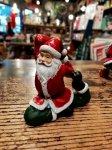 クリスマス ヨガ サンタ  鳩のポーズ ヨガ教室 ヨガグッズ ヨガサンタ