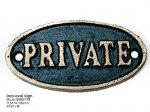 アイアンサイン PRIVATE Green/Gold