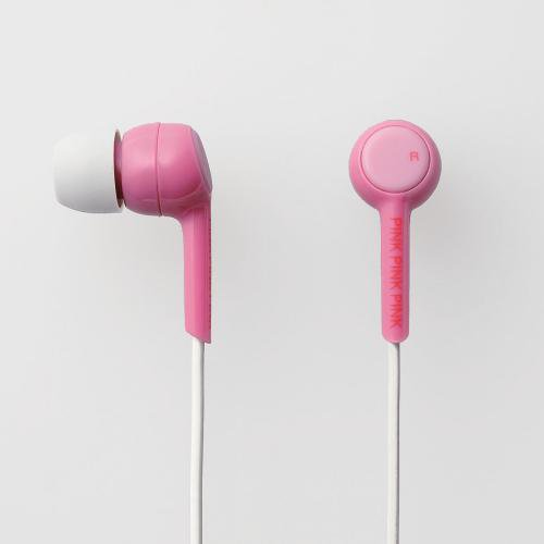 [M1] 女の子に人気のピンクカラーのヘッドホン エレコム PINK PINK PINK シリーズ  おしゃれなデザイン