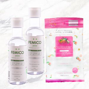 送料無料セット For 【医薬部外品】FEMICO フェミニンウォッシュ×2個&フェミット×3個