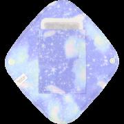 【ポケット付き♪】ひし形ライナー(宇宙柄 アクアソーダ)