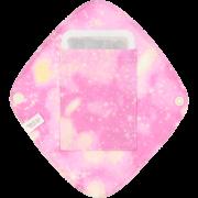 【ポケット付き♪】ひし形ライナー(宇宙柄 ストロベリー)