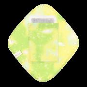 【ポケット付き♪】ひし形ライナー(宇宙柄 レモンライム)