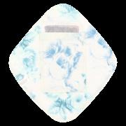 【ポケット付き♪】ダブルガーゼひし形ライナー(「ウォーターローズ」・ブルー)