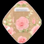 【ひし形ライナー・ポケット付き♪】ロイヤルローズ(王妃チャイティー)