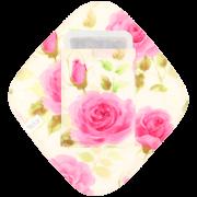 【ひし形ライナー・ポケット付き♪】ロイヤルローズ(プリンセスピンク)