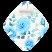 【ひし形ライナー・ポケット付き♪】ロイヤルローズ(プリンセスブルー)