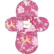 【ホルダー単品】 布ナプキン・Sサイズ 【鳳凰柄 赤葡萄色】